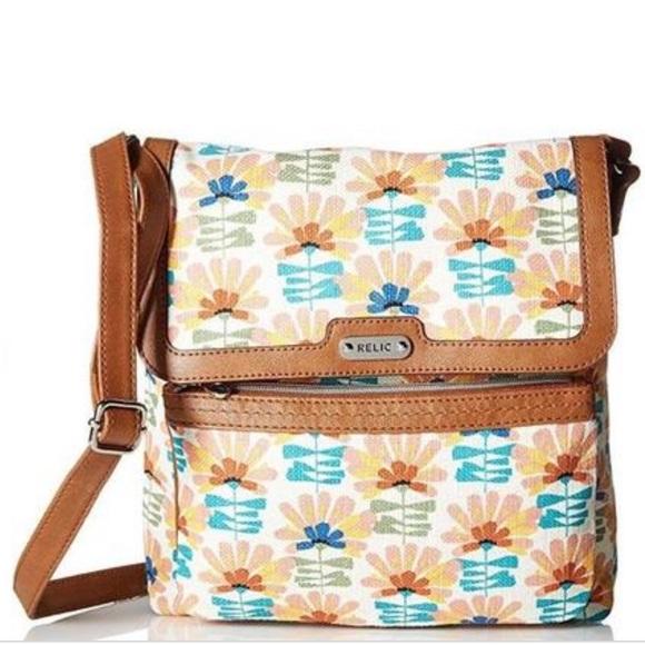 5b68ab5d659 Relic Evie Flap Palm Springs crossbody purse